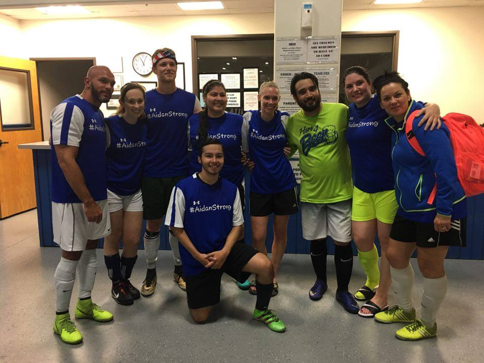 apex team pose - Benefits of Playing Adult Soccer