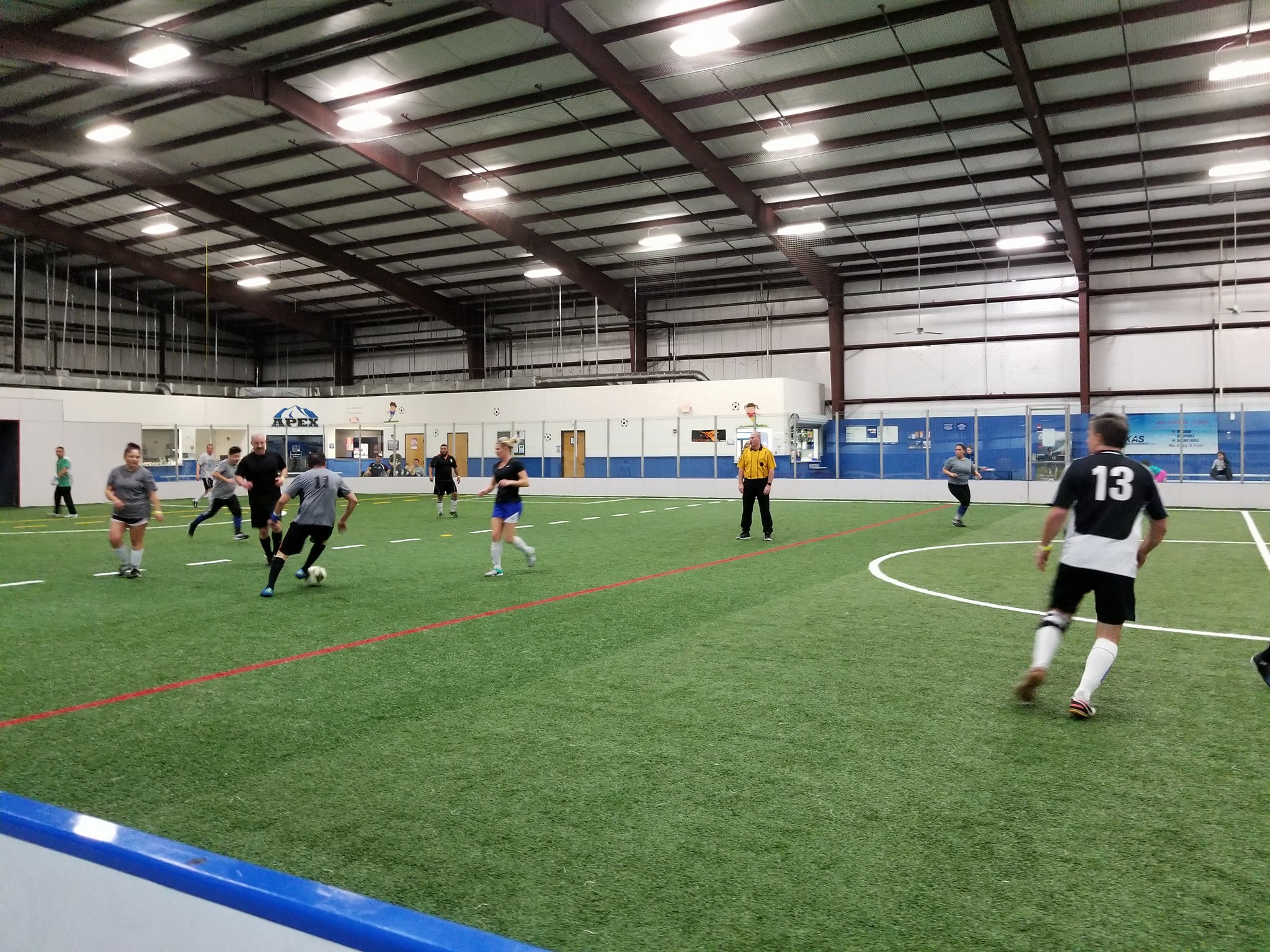 indoor soccer - Lunchtime Soccer in North Texas